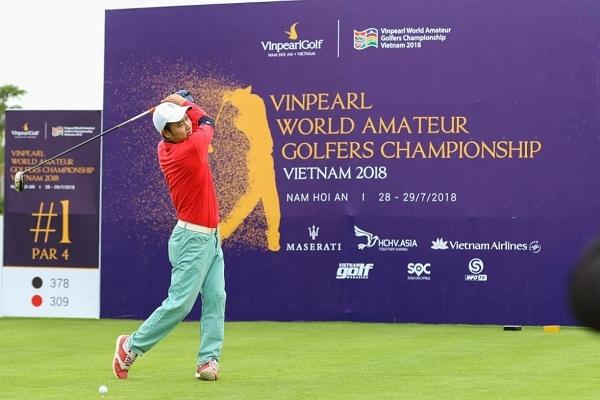 Cuu danh thu Nguyen Hong Son so gay cung vo chong nhac si Minh Khang tai Vinpearl Golf Nam Hoi An