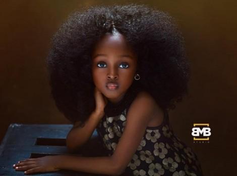 Bé gái Nigeria lên ngôi 'nữ thần nhí' xinh đẹp nhất thế giới