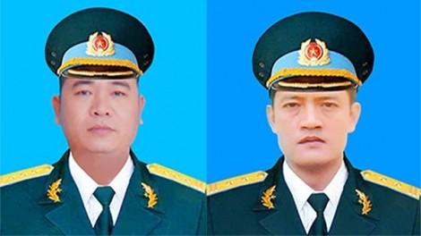 Truy thăng quân hàm đối với hai phi công hy sinh trong vụ máy bay rơi