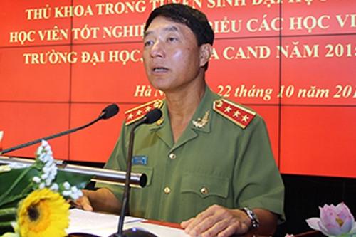 Bo Chinh tri, Ban Bi thu thi hanh ky luat 3 tuong cong an, quan doi