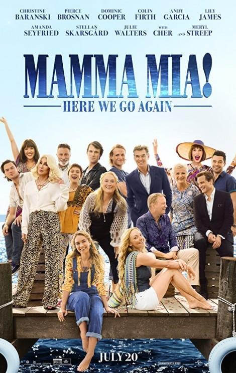 Thời trang đậm tinh thần thập niên 70 trong phim 'Mamma Mia'