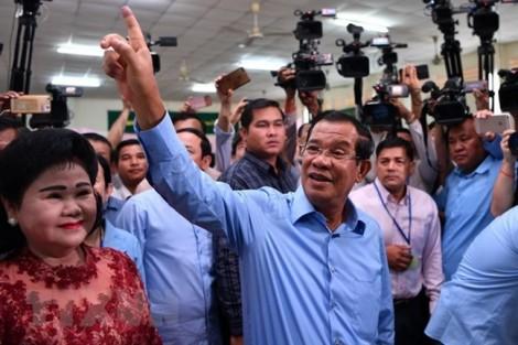 Bầu cử Campuchia: Đảng của Thủ tướng Hun Sen chiến thắng áp đảo