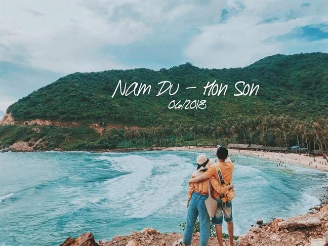 Kinh nghiem phuot dao Nam Du - Hon Son 3 ngay 3 dem danh cho 2 nguoi