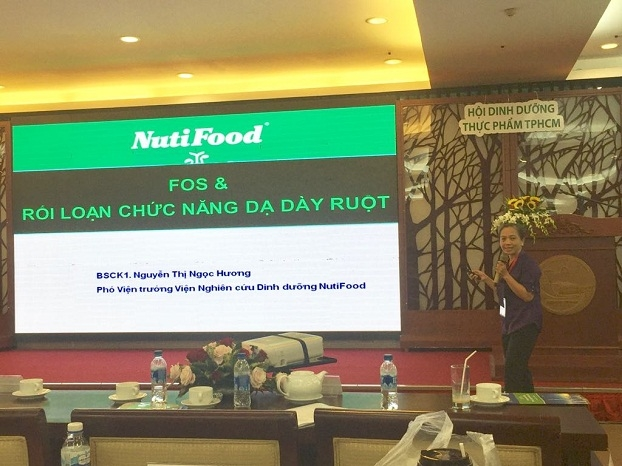 NutiFood dong hanh cung hoi nghi dinh duong TP.HCM mo rong