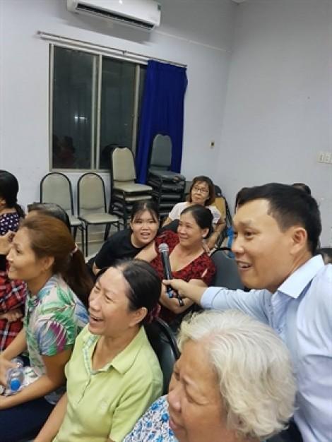Quận 6: Hào hứng với hội thi hái hoa dân chủ