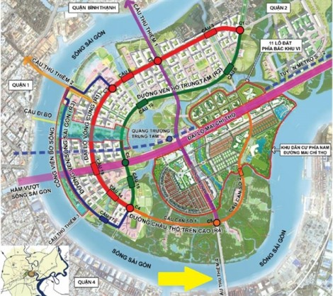 UBND TP.HCM đề nghị công khai lựa chọn lại nhà thầu xây cầu Thủ Thiêm 4