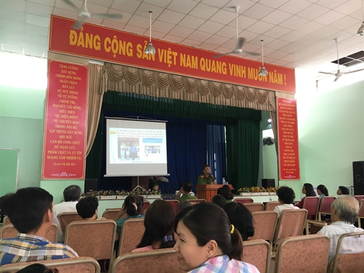 Quan Phu Nhuan: Trang bi ky nang phong, chong toi pham lua dao qua mang cho hoi vien