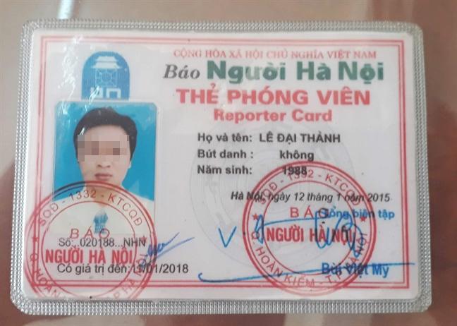 Phong vien co the da het han bi to xo xat voi can bo huyen
