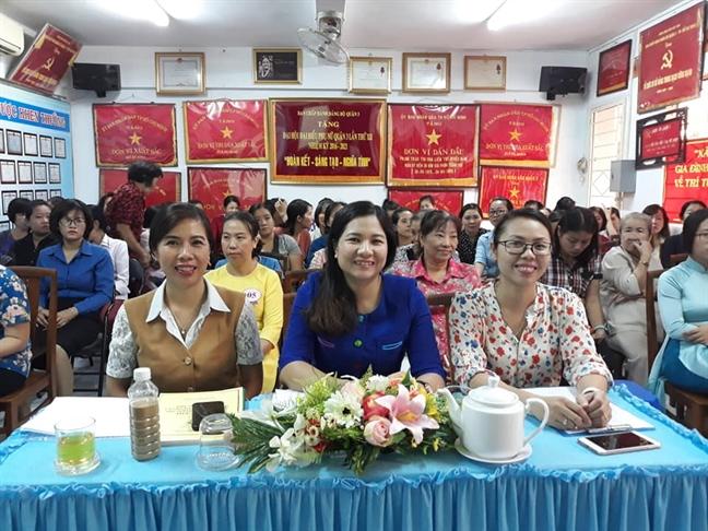 Quan 3: Nhieu y tuong hay cho cong tac 'Doi moi noi dung, phuong thuc hoat dong Hoi'