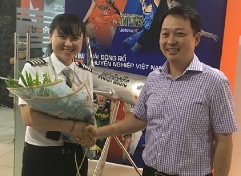 Jetstar Pacific có nữ cơ trưởng người Việt đầu tiên