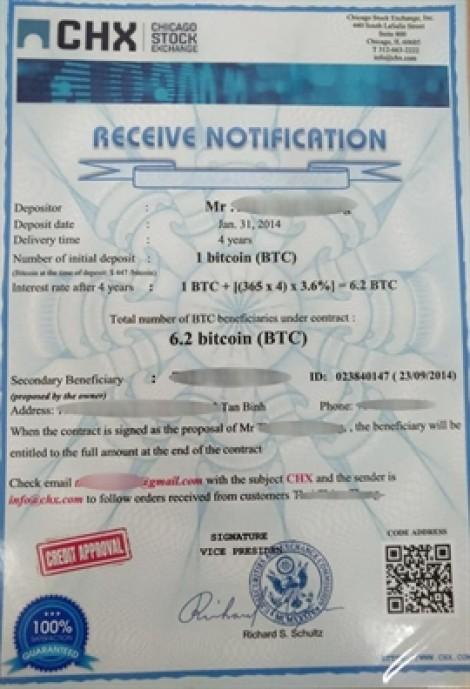 Xuất hiện chiêu lừa đảo nhận tiền thừa kế với bitcoin, một người suýt mất trắng 100 triệu đồng