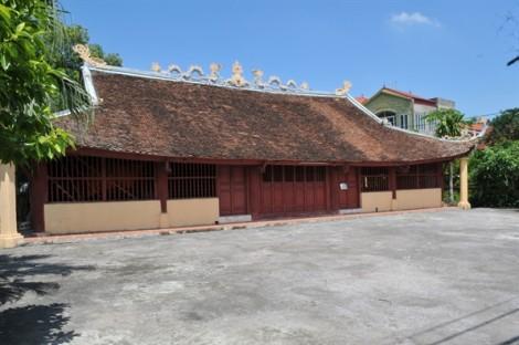 Phá bỏ ngôi đình 300 tuổi để xây mới bằng bê tông