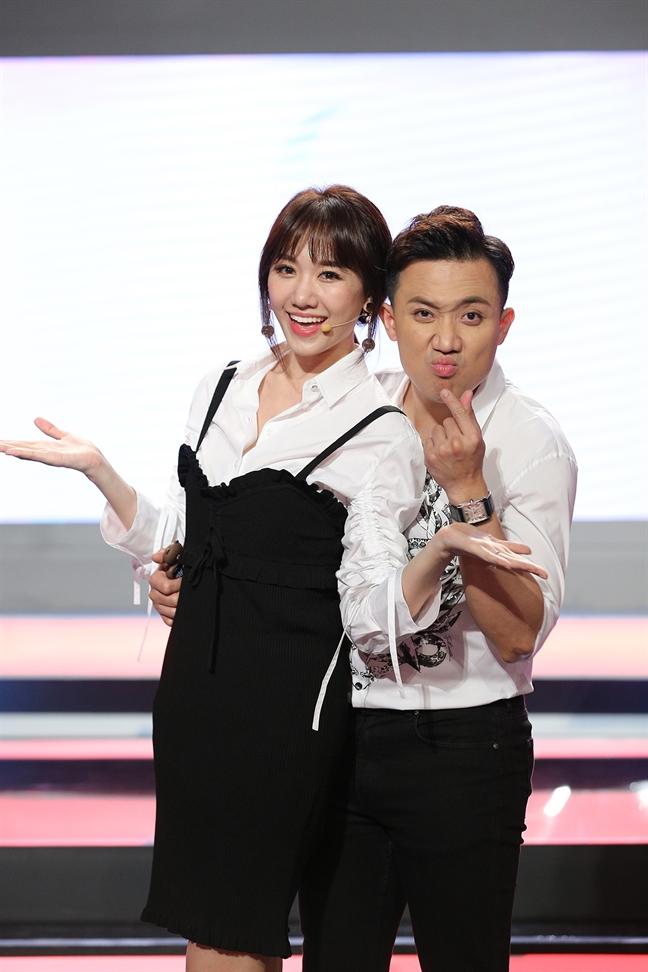 Hari Won: 'Toi ap luc khi lam viec voi anh Tran Thanh'