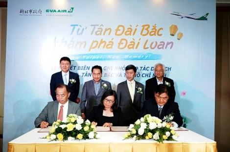 EVA Air kết nối quảng bá du lịch 'Từ Tân Đài Bắc, khám phá Đài Loan'