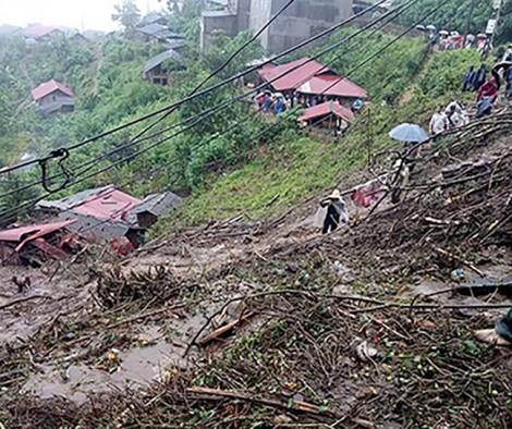 Lai Châu: 6 người chết, 5 người mất tích vì mưa lũ