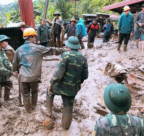 Lai Châu tiếp tục mưa lớn, chưa tìm thấy 5 nạn nhân bị đất vùi lấp