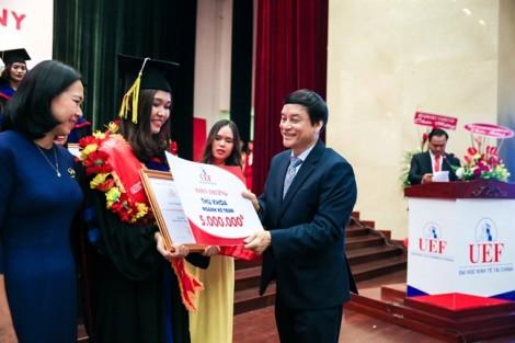 Trường đại học Kinh tế-Tài chính TPHCM:  Sinh viên phải đạt trình độ tiếng Anh IELTS 5.5 trước khi tốt nghiệp