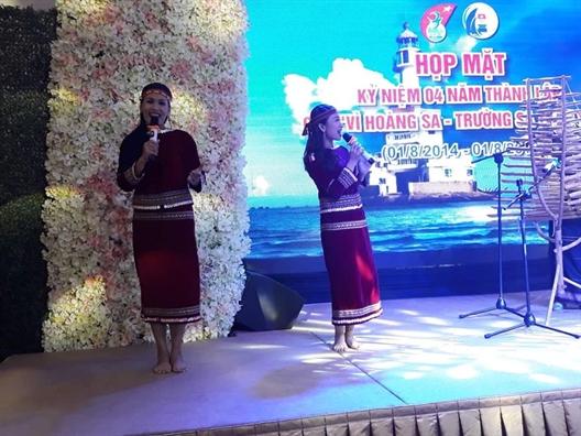 Gan 30 ti dong cho hoat dong cua Cau lac bo  'Vi Hoang Sa - Truong Sa than yeu'