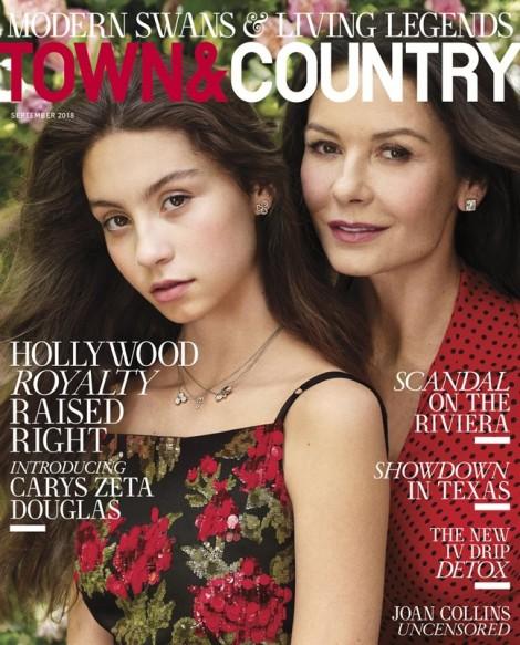 Con gái Catherine Zeta-Jones và Michael Douglas tiết lộ sự thật 'gây sốc'