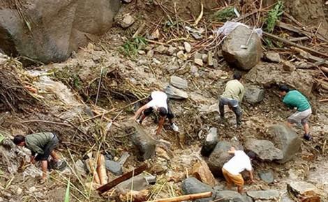 Nhiều phụ nữ thương vong và mất tích vì mưa lũ ở Lai Châu