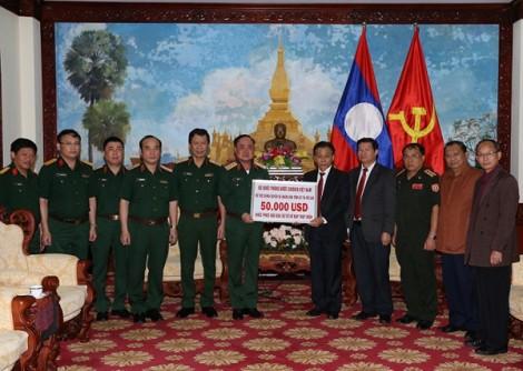Bộ Quốc phòng, TP.HCM hỗ trợ 150.000USD khắc phục hậu quả vỡ đập thủy điện tại Lào