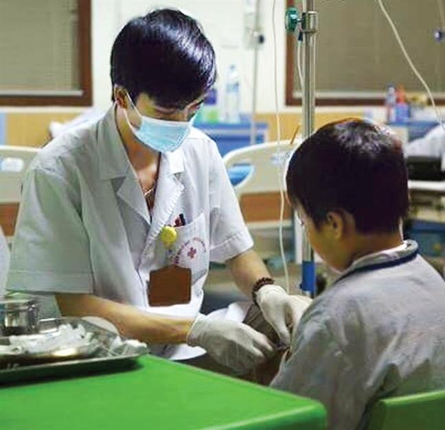 Benh nhan Thalassemia lao dao vi thieu thuoc thai sat
