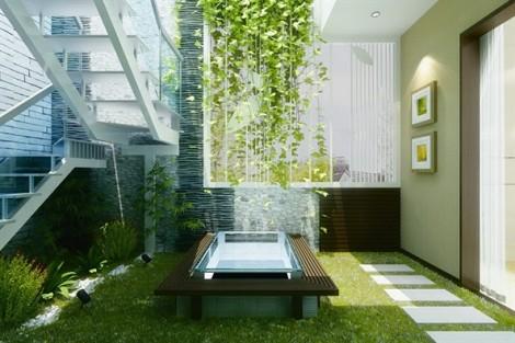 Đưa vườn cây vào nhà