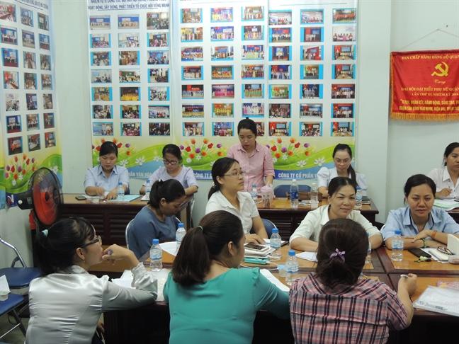 Quan Tan Binh: Ban giai phap nang cao chat luong hoat dong Hoi Phu nu co so