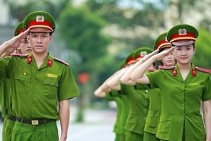 35 canh sat co dong tai Lang Son trung tuyen vao truong cong an