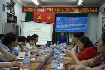 Quận Tân Bình: Bàn giải pháp nâng cao chất lượng hoạt động Hội Phụ nữ cơ sở