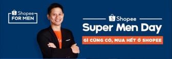 Cơ hội giảm giá đến từ các thương hiệu: Bosch, Logitech, Sunhouse và Nivea trong chương trình khuyến mãi 'Shopee For Men'