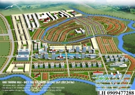 Long An: Dự án gần 270 ha bị bán 'trộm', chủ đầu tư kêu cứu chính quyền