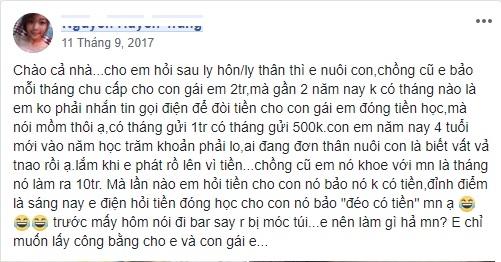 Cap duong nuoi con: Tieng long xot xa cua cac me don than trong cac hoi kin