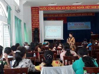 Huyện Hóc Môn: Trang bị cho mẹ và bé gái kiến thức tự bảo vệ
