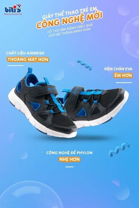 Ba bí quyết 'vàng' trong việc chọn giày vận động hiệu quả, giúp bé thông minh hơn