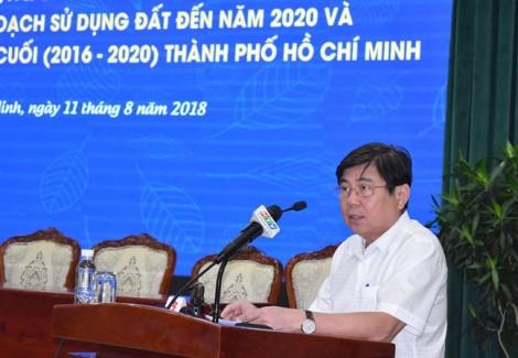 Chủ tịch UBND TP.HCM: 'Đừng lợi dụng đất nhà nước để ăn chênh lệch giá'