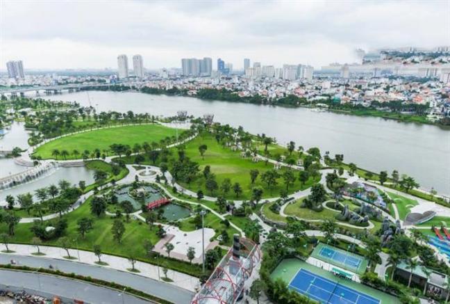 Central Park giong het cai 'mo han' de doa song Sai Gon