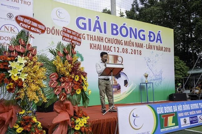 32 doi tranh tai tai giai bong da Hoi dong huong Thanh Chuong