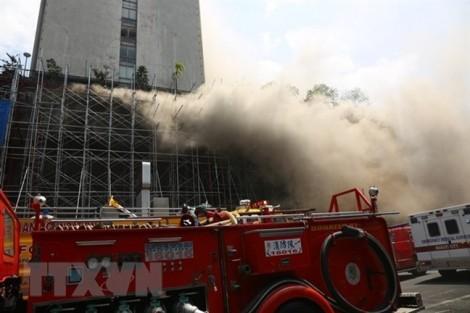 Cháy bệnh viện tại Đài Loan, nhiều người bị thương nặng