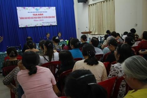 Quận Tân Bình: Tọa đàm 'Nâng cao hiệu quả hoạt động tổ tư vấn cộng đồng'