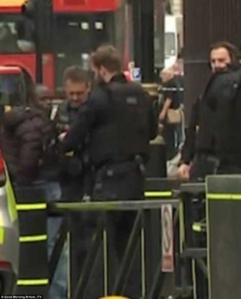 Lái xe tông vào người đi đường bên ngoài tòa nhà Quốc hội Anh