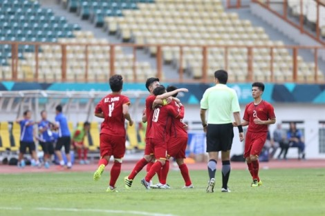 Olympic Việt Nam thắng to nhưng vẫn lo