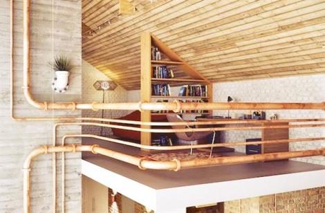Độc đáo với phong cách thiết kế công nghiệp trong góc nhà nhỏ