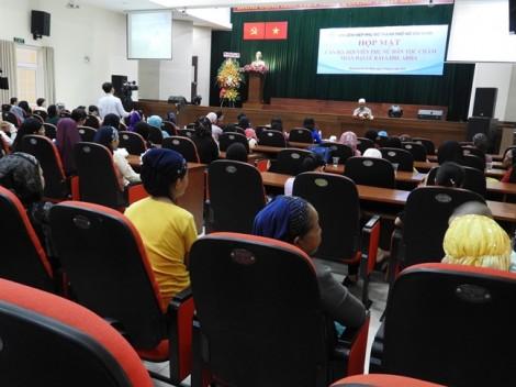 Họp mặt cán bộ, hội viên phụ nữ dân tộc Chăm nhân Đại lễ Raya Idil Adha