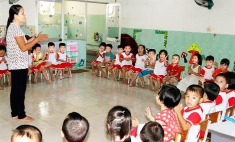 Nâng chuẩn giáo viên mầm non: Cần chú trọng thực chất