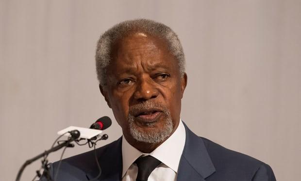 Cuu Tong thu ky LHQ Kofi Annan qua doi