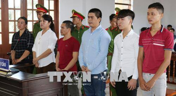 6 bi cao gay roi tai Ninh Thuan lanh an
