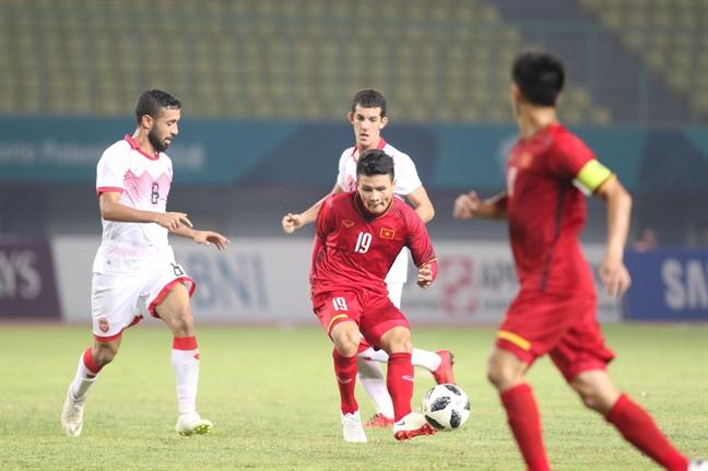 Vat va ha U23 Bahrain, U23 Viet Nam lan dau vao tu ket ASIAD