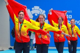 ASIAD 2018: Những cô gái chèo thuyền mang vinh quang cho Việt Nam
