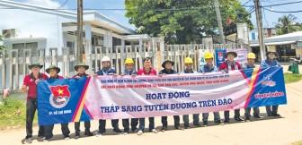 Thanh niên ngành điện TP.HCM tích cực tham gia chiến dịch Kỳ nghỉ hồng 2018